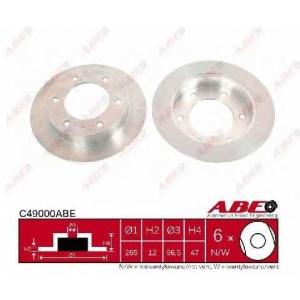 ABE C49000ABE Тормозной диск Исузу Трупер