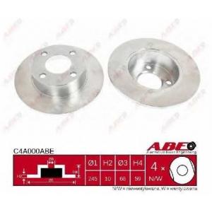ABE C4A000ABE Тормозной диск Ауди 90