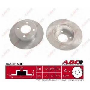 ABE C4A001ABE Тормозной диск Ауди 100