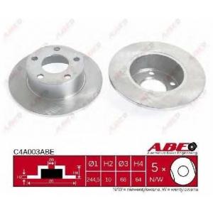 ABE C4A003ABE Тормозной диск Ауди А6