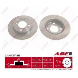 ABE C4A005ABE Тормозной диск Ауди 80
