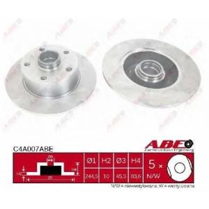 ABE C4A007ABE Гальмівний диск