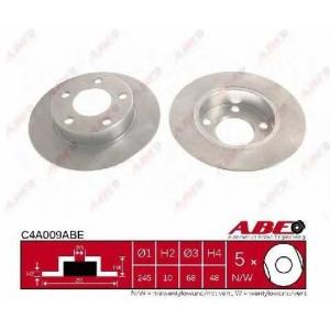 ABE C4A009ABE Тормозной диск Ауди А4
