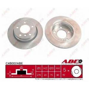 ABE C4B002ABE Гальмівний диск