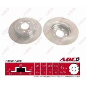 ABE C4B010ABE Тормозной диск Бмв 7