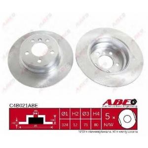 ABE C4B021ABE Тормозной диск Бмв Х5