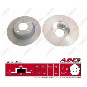 ABE C4C010ABE Тормозной диск Ситроен С5