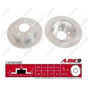 ABE C4F003ABE Тормозной диск Ситроен Джампер