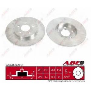 ABE C4G007ABE Тормозной диск Ягуар Икс Тайп