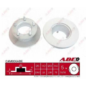 ABE C4M006ABE Тормозной диск Мерседес 100