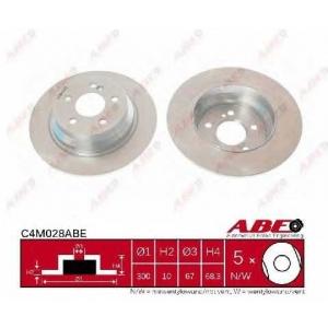 ABE C4M028ABE Гальмівний диск