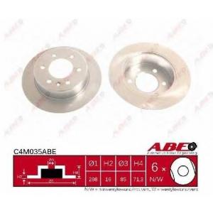 ABE C4M035ABE Гальмівний диск