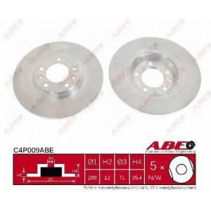 ABE C4P009ABE Тормозной диск Ситроен С5