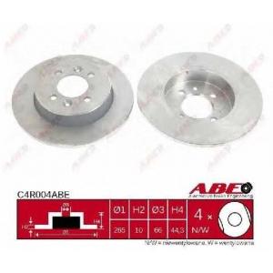 ABE C4R004ABE Тормозной диск Рено Сафране