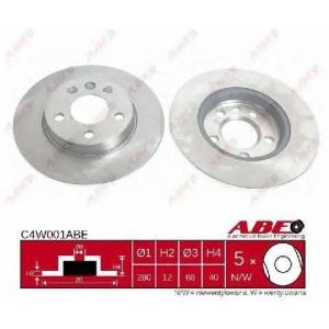 ABE C4W001ABE Гальмівний диск