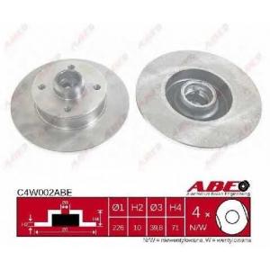 ABE C4W002ABE Гальмівний диск