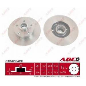 ABE C4W003ABE Гальмівний диск