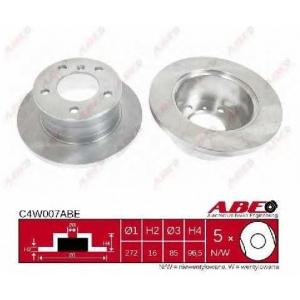 ABE C4W007ABE Гальмівний диск