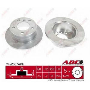 ABE C4W007ABE Тормозной диск Мерседес Спринтер 4Т