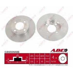 ABE C4W009ABE Тормозной диск