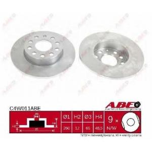 ABE C4W011ABE Гальмівний диск