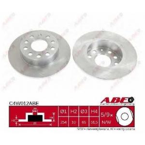 ABE C4W012ABE Гальмівний диск