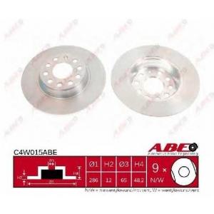 ABE C4W015ABE Гальмівний диск