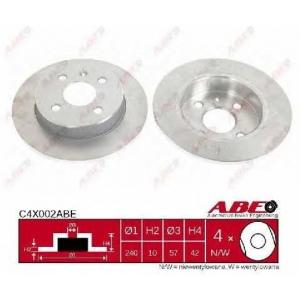 ABE C4X002ABE Гальмівний диск