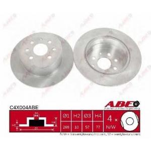 ABE C4X004ABE Тормозной диск Опель Калибра