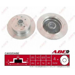 ABE C4X005ABE Тормозной диск Опель Калибра