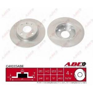 ABE C4X015ABE Тормозной диск Опель Тигра