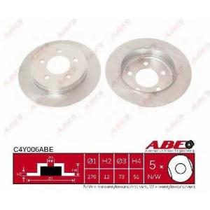 ABE C4Y006ABE Тормозной диск Крайслер Конкорд