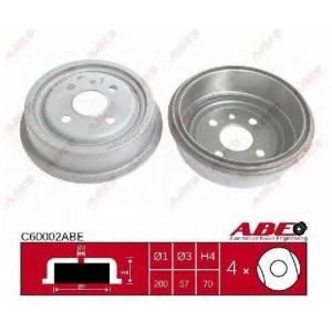 ABE C60002ABE Гальмівний барабан