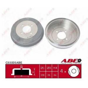 ABE C61001ABE Гальмівний барабан