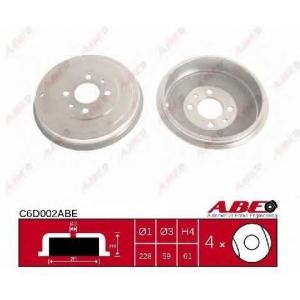 Гальмівний барабан c6d002abe abe -