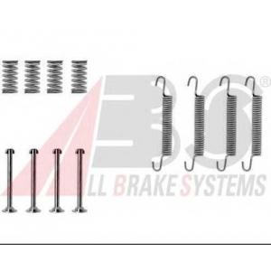 ABS 0667Q Ремкомплект гальмiвних колодок