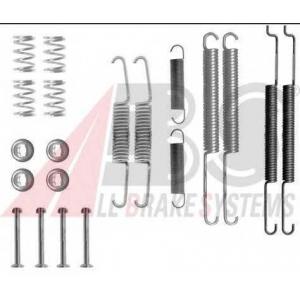 ABS 0726Q Комплектующие, тормозная колодка