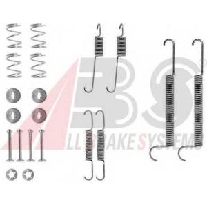ABS 0746Q Drum brake elements