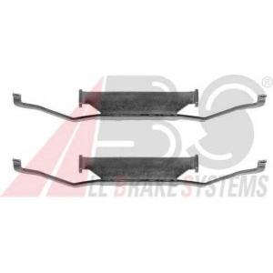 ABS 1054Q Ремкомплект гальмiвних колодок