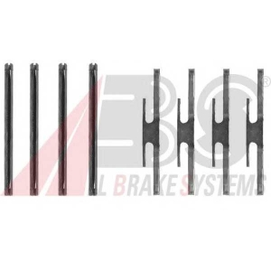 ABS 1072Q Disc brake elements