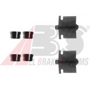 ABS 1084Q Комплектующие, колодки дискового тормоза
