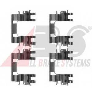 A.B.S. 1087Q Комплектующие, колодки дискового тормоза Хонда Црх