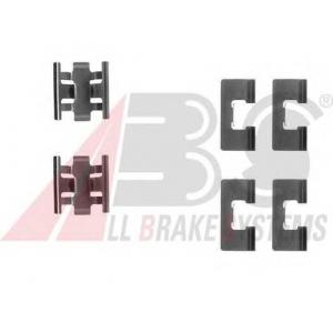 A.B.S. 1091Q Комплектующие, колодки дискового тормоза Хонда Црх