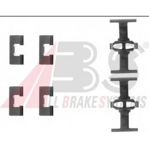 A.B.S. 1092Q Комплектующие, колодки дискового тормоза Хонда Црз
