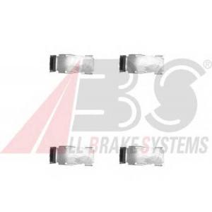 A.B.S. 1094Q Комплектующие, колодки дискового тормоза Дайхатсу