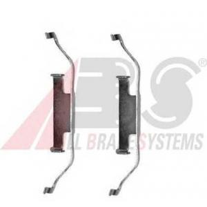 ABS 1097Q Комплектующие, колодки дискового тормоза
