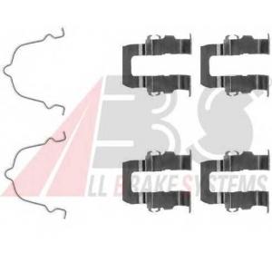 A.B.S. 1119Q Комплектующие, колодки дискового тормоза Мазда 929
