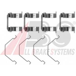 ABS 1158Q Комплектующие, колодки дискового тормоза