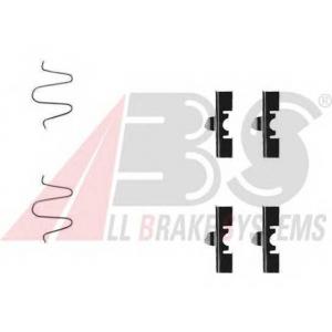 A.B.S. 1170Q Комплектующие, колодки дискового тормоза Дайхатсу