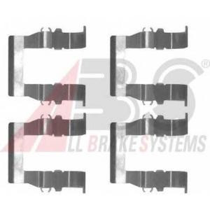 A.B.S. 1194Q Комплектующие, колодки дискового тормоза Ситроен С Кроссер